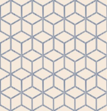 Seamless fabric geometric pattern