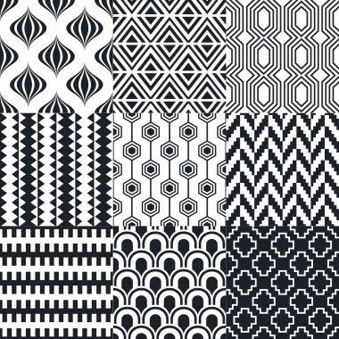 Set of elegant patterns