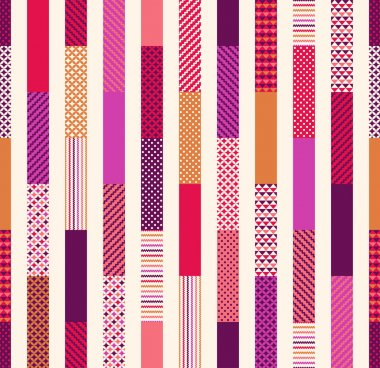 geometric stripes pattern