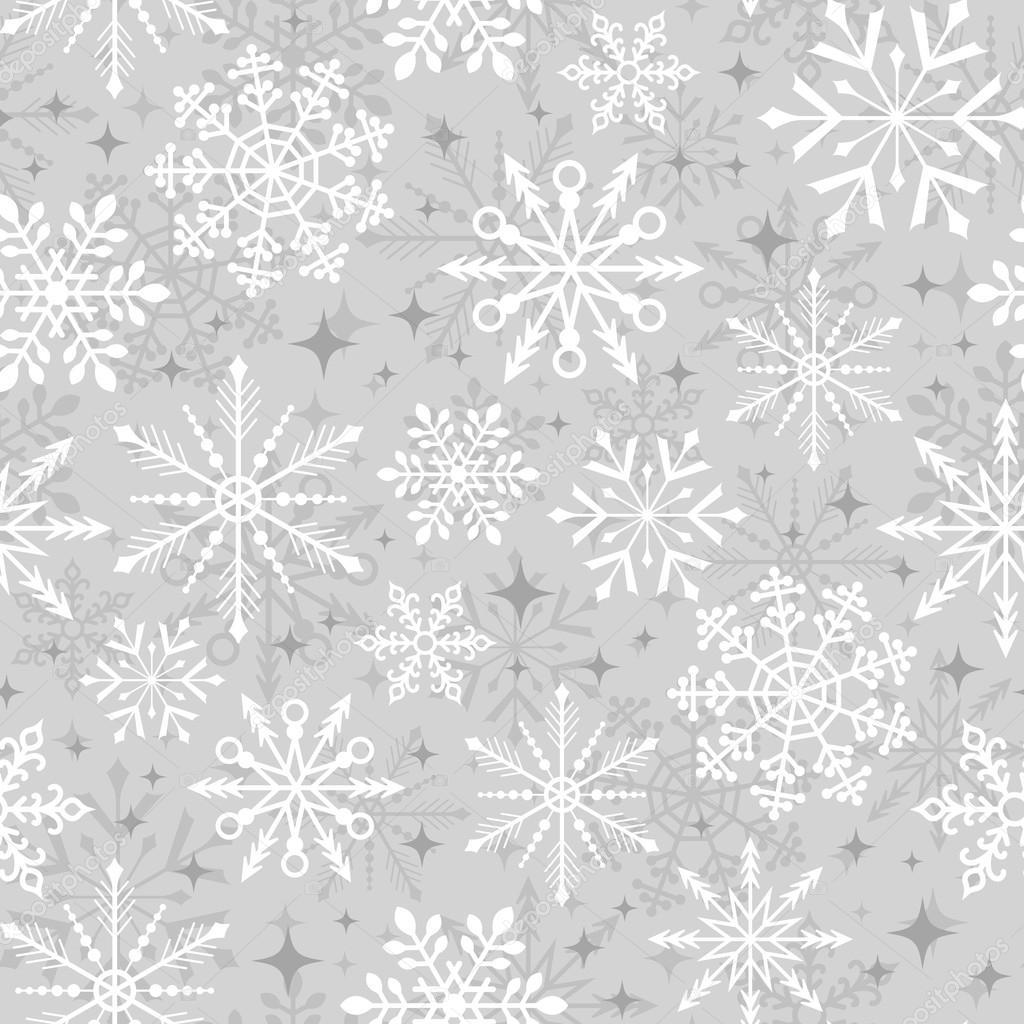 christmas snowflakes pattern