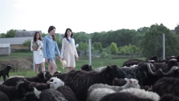 young women On Farm
