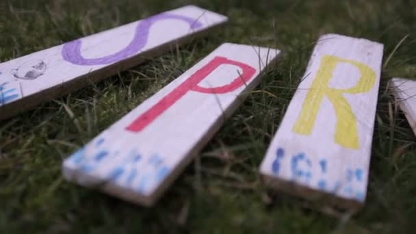 Dekorative Holztafeln
