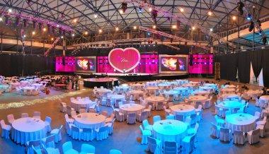 Public event interior