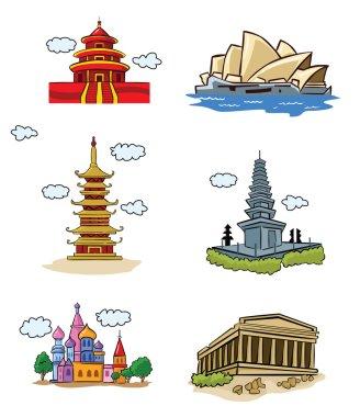 Amazing Buildings emblems
