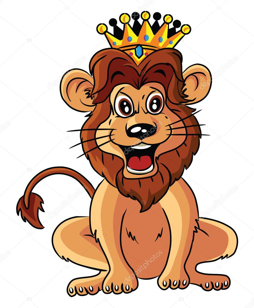 Lion With Crown Cartoon Lion With Crown Cartoon Illustration Stock Vector C Imazyreams 58431029 600+ vectors, stock photos & psd files. https depositphotos com 58431029 stock illustration lion with crown cartoon illustration html