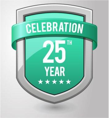 shield 25 years celebration