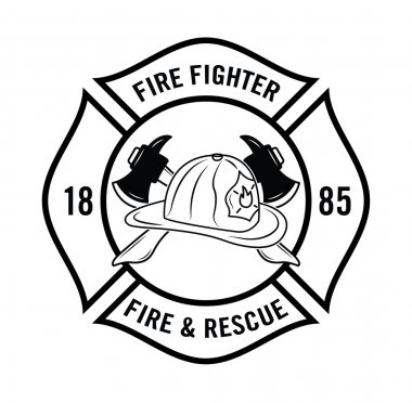 Fire n Resque : Fire fighter badge