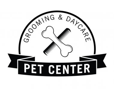 Pet center badge