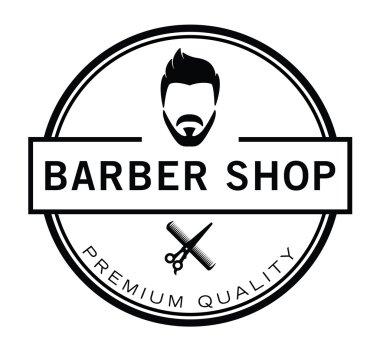 Barber shop badge premium quality