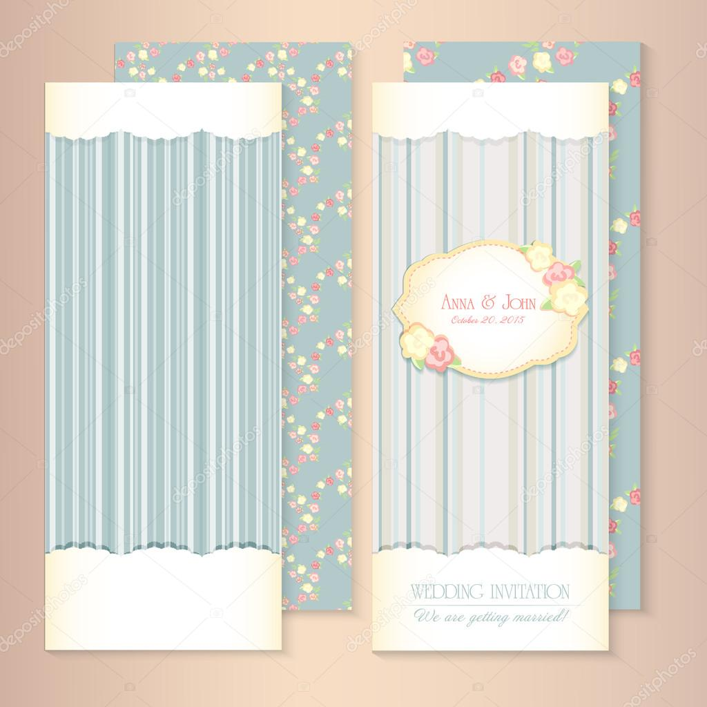 beautiful flowerpatterned background shabby chic wedding