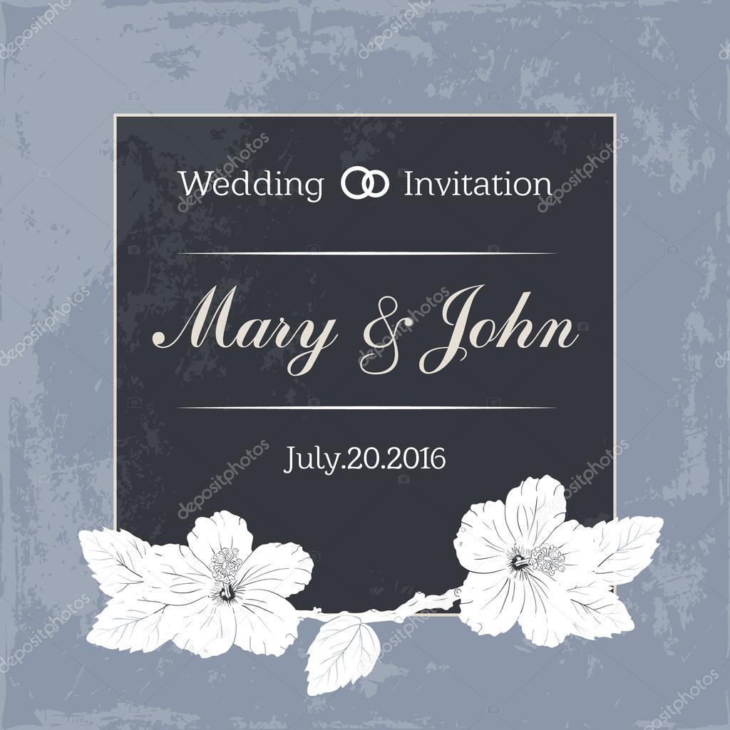 Plantilla de diseño de matrimonio con nombres personalizados en ...