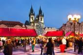 Mercato di Natale Praga sulla vecchia piazza