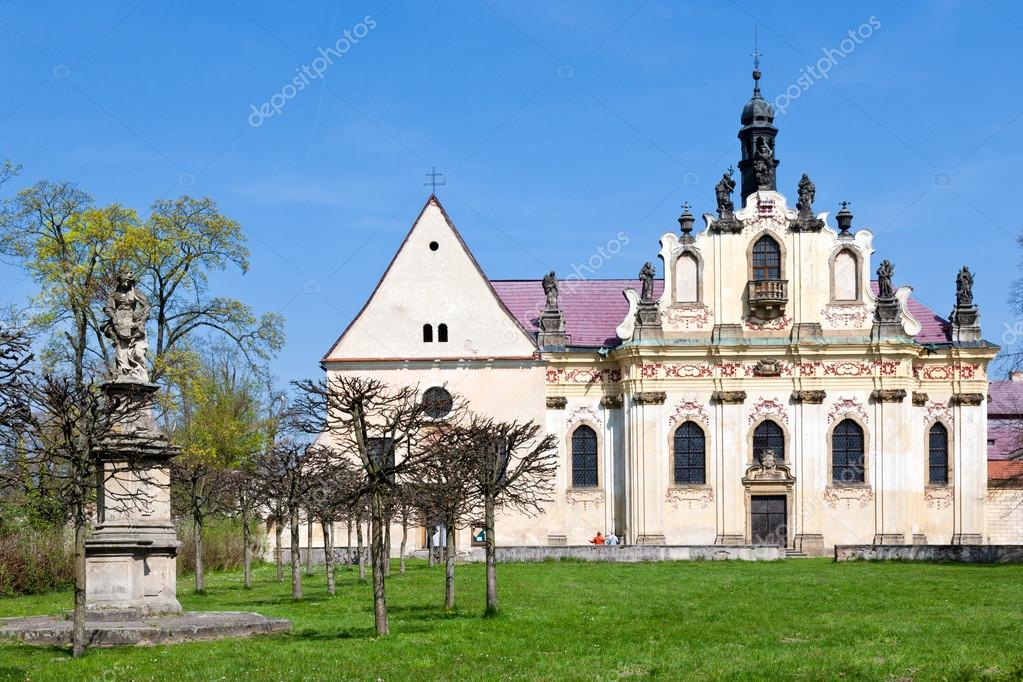 Baroque st anna chapel and the three kings convent mnichovo baroque st anna chapel and the three kings convent mnichovo hradiste bohemian paradise region czech republic europe photo by kaprikm publicscrutiny Image collections