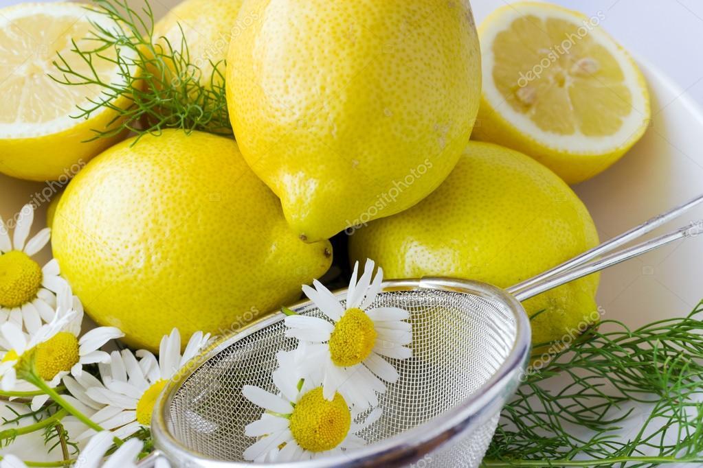 Лимон Ромашка Похудеть. Ромашка для похудения - домашние рецепты. Эффективность чая с ромашкой и лимоном для похудения