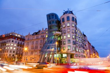 Dancing House, New Town, Prague, Czech republic
