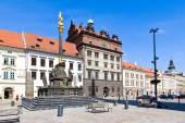 Municipio e peste colonna, Plzen, Repubblica Ceca