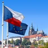 Bandiera, Castello di Praga e Mala Strana, Praga (Unesco), Czech repu