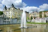 Fotografie fontána, Lázně Mariánské lázně, Česká republika