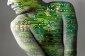 Künstliche Intelligenz - Roboter oder Mensch - Cyborg