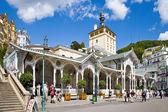 lázeňské město Karlovy Vary, Česká republika, Evropa