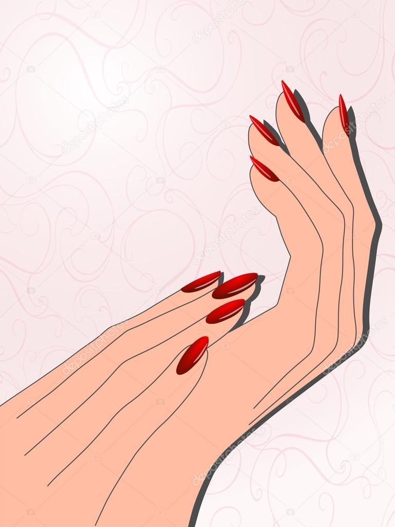 Рисунки для ногтей на руках с картинками