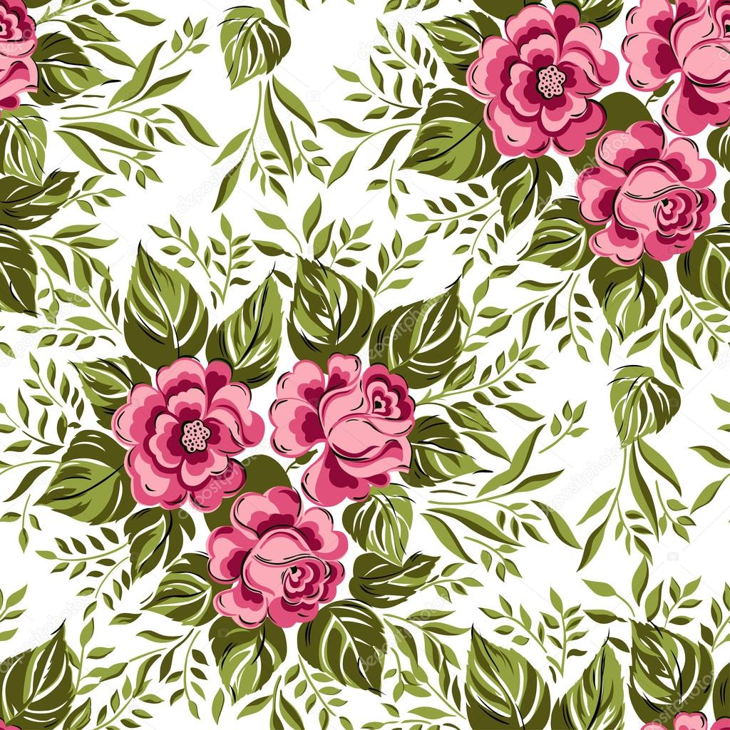 seamless floral background - photo #24