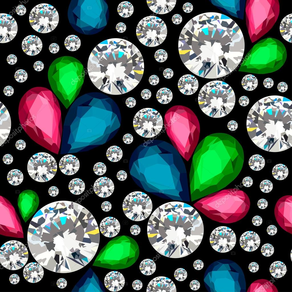 Amazing template design on diamonds background. Vector