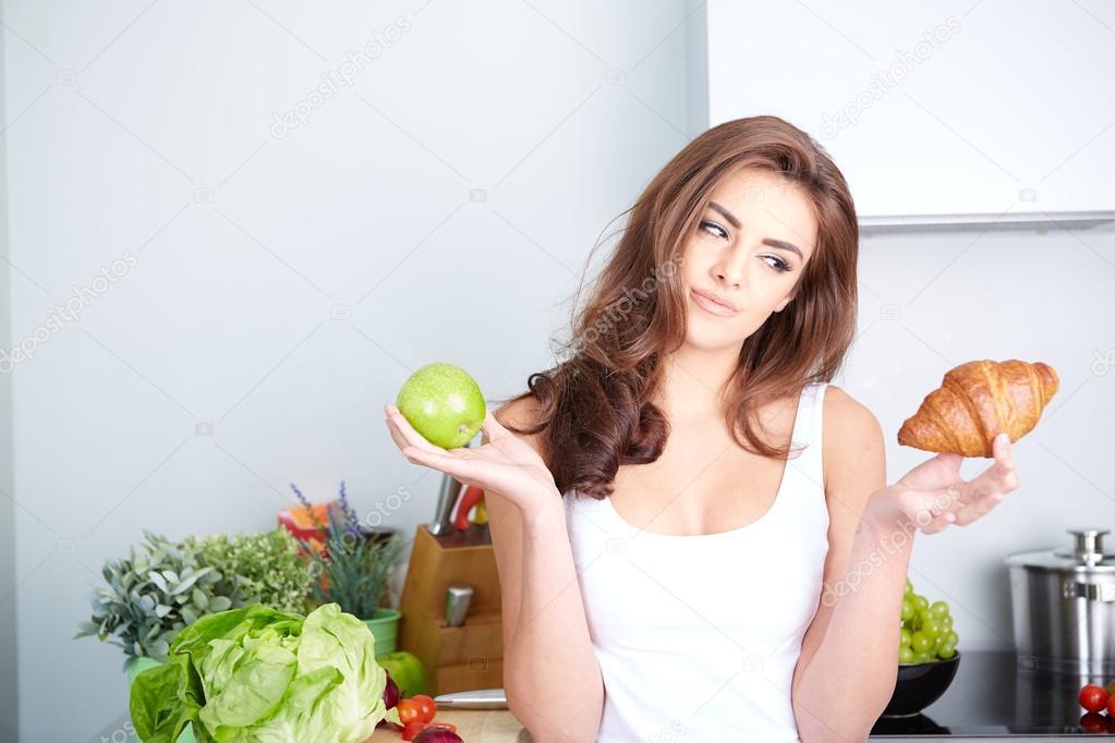 Diet. Dieting concept. Healthy Food.