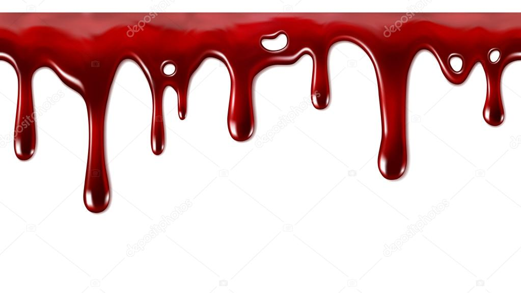 Dripping blood seamles...