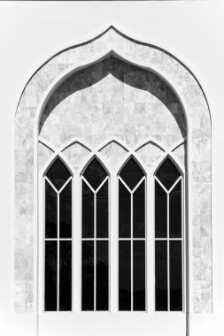 White marble window in Thaialnd