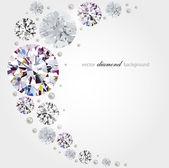 Fotografie Diamant-Hintergrund