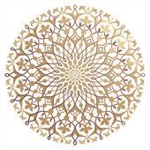 Islámská květinový vzor