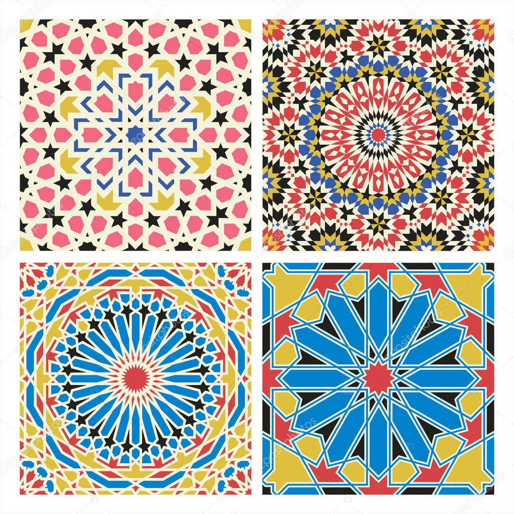 traditional arabian tale patterns stock vector ataly123 67397411
