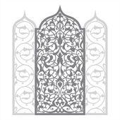Arab dísz vektoros illusztráció
