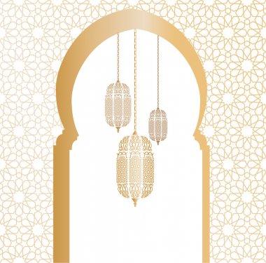 Arabic vector illustration