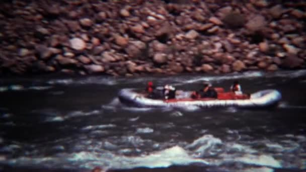 rafting guided tour down mountain river