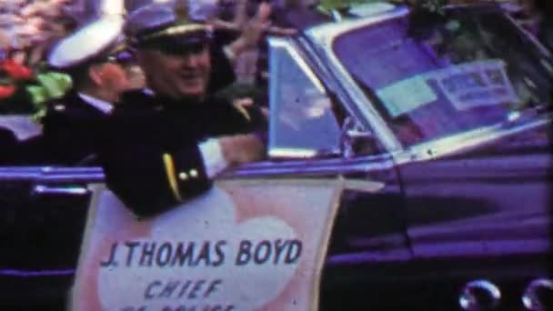 j. thomas boyd chef der polizei paradewagen