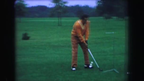 professional performance man hits moving swinging balls