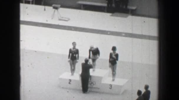 medal awards ceremony on Summer Olympic Games