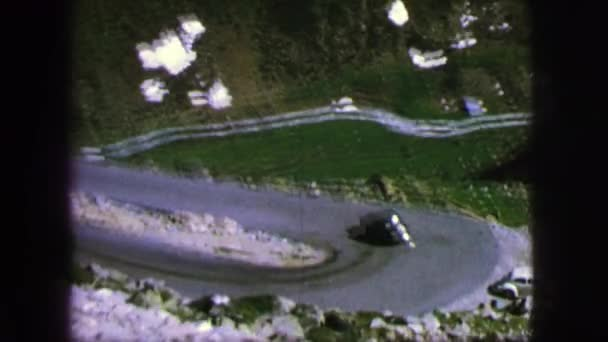 vehicle driving on a winding road