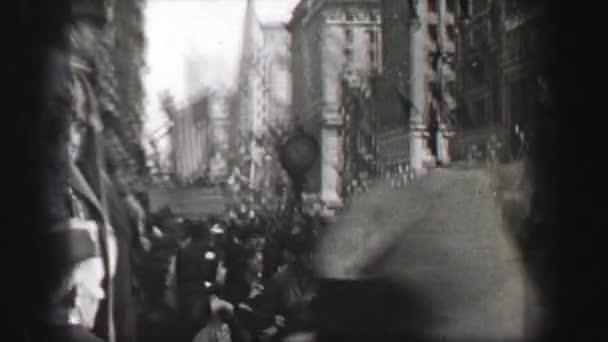Marching band military parade
