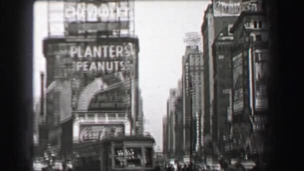 Times Square Chevrolet Planters with Peanuts Coca Cola Sunkist Oranges advertisements