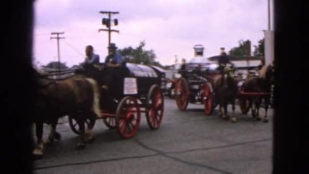 Přehlídka hasičů v městě Barrington