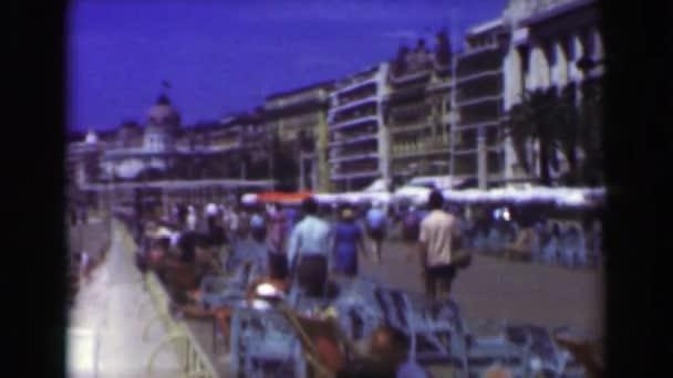 French Riviera boardwalk
