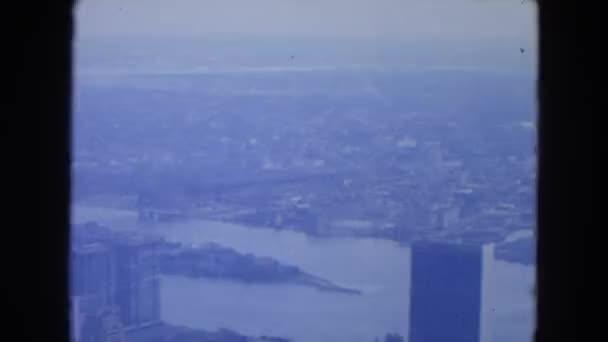 pohled nad Manhattan v New Yorku