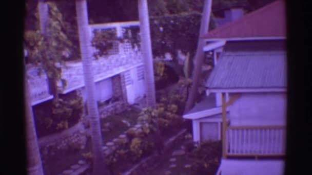 Pohled na hotel v Havaji