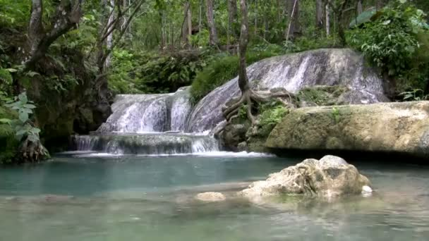 Wide Pool Waterfall
