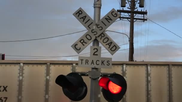 železniční přejezd světla