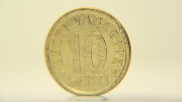 Deset centů mince z Estonska