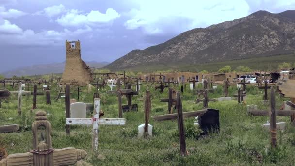 Primitive Cemetery in Pueblo